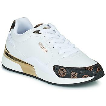 Schuhe Damen Sneaker Low Guess MOXEA Weiss