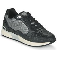 Schuhe Damen Sneaker Low Guess MOXEA Schwarz