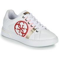 Schuhe Damen Sneaker Low Guess REATA Weiss
