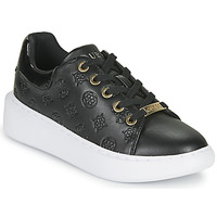 Schuhe Damen Sneaker Low Guess BRADLY Schwarz