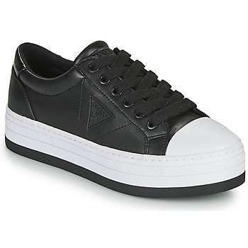 Schuhe Damen Sneaker Low Guess BRODEY3 Schwarz