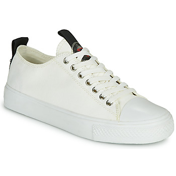 Schuhe Damen Sneaker Low Guess EDERLA Weiss