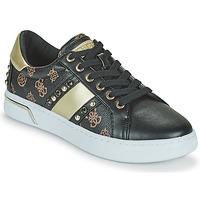 Schuhe Damen Sneaker Low Guess RICENA Schwarz