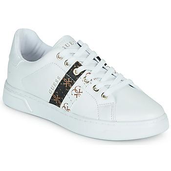 Schuhe Damen Sneaker Low Guess REEL Weiss