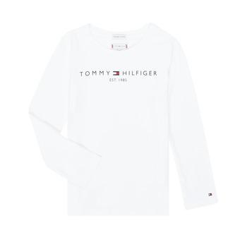 Kleidung Mädchen Langarmshirts Tommy Hilfiger KG0KG05247-YBR-J Weiss