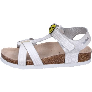 Schuhe Mädchen Sandalen / Sandaletten Smiley BK514 Silber