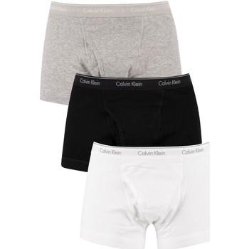 Unterwäsche Herren Boxershorts Calvin Klein Jeans 3 Packungsstämme mehrfarbig