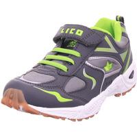 Schuhe Jungen Derby-Schuhe & Richelieu Lico Bob VS anthrazit/lemon