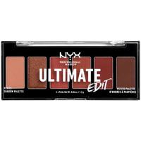 Beauty Damen Lidschatten Nyx Professional Make Up Ultimate Edit Petite Shadow Palette warm Neutrals 6x1,2 Gr