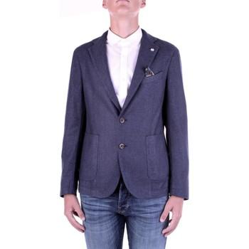 Kleidung Herren Jacken / Blazers Manuel Ritz 2932G2728TW-203507 Blau