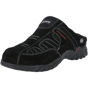 Schuhe Herren Pantoletten / Clogs Dockers by Gerli Slipper Dockers Clog 60221 schwarz