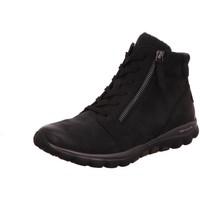 Schuhe Damen Sneaker High Rollingsoft By Gabor Stiefeletten 56.868.46 blau