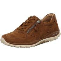 Schuhe Damen Sneaker Low Rollingsoft By Gabor Schnuerschuhe 56.968.35 braun