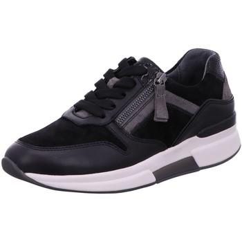 Schuhe Damen Sneaker Low Rollingsoft By Gabor Schnuerschuhe Rolling Soft 56.929.37 schwarz