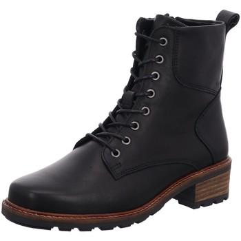 Schuhe Damen Boots Solidus Stiefeletten Kinga 61000 01006 Crust 61000 01006 schwarz