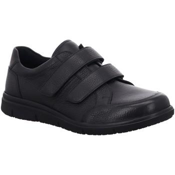 Schuhe Herren Slipper Solidus Slipper 64500-01007 schwarz
