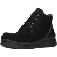 Schuhe Damen Boots Wolky Schnuerschuhe Zoom black 0485011-000 schwarz