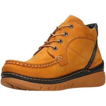 Schuhe Damen Boots Wolky Schnuerschuhe 0485011-925 gelb
