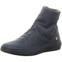 Schuhe Damen Boots Softinos Stiefeletten P900550010 blau