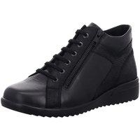 Schuhe Damen Boots Solidus Stiefeletten Maren 4900400805 schwarz