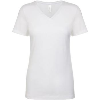 Kleidung Damen T-Shirts Next Level NX1540 Weiß