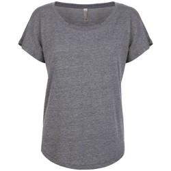 Kleidung Damen T-Shirts Next Level NX6760 Grau meliert