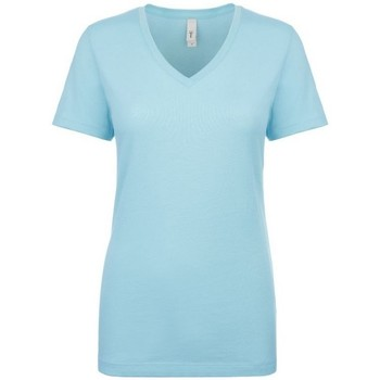 Kleidung Damen T-Shirts Next Level NX1540 Hellblau