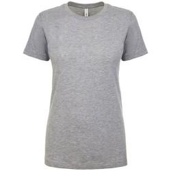 Kleidung Damen T-Shirts Next Level NX1510 Grau meliert