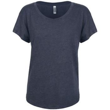 Kleidung Damen T-Shirts Next Level NX6760 Marineblau