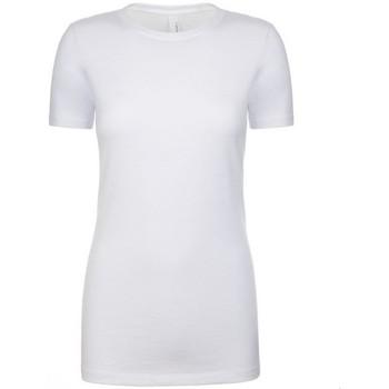 Kleidung Damen T-Shirts Next Level NX6610 Weiß