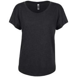 Kleidung Damen T-Shirts Next Level NX6760 Schwarz