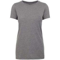 Kleidung Damen T-Shirts Next Level NX6610 Dunkelgrau meliert