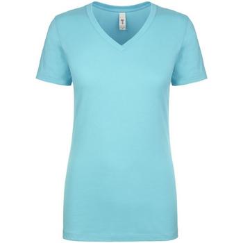 Kleidung Damen T-Shirts Next Level NX1540 Helles Türkisblau