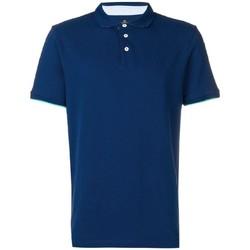 Kleidung Herren Polohemden Hackett HM562377-581 Blau
