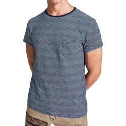 Kleidung Herren T-Shirts Hackett HM500318-561 Blau