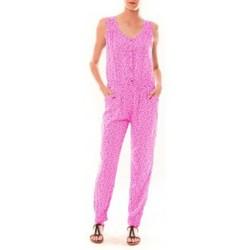 Kleidung Damen Overalls / Latzhosen Dress Code Combinaison Z073  Rose Rose