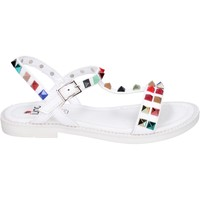Schuhe Mädchen Sandalen / Sandaletten Joli BK530 weiß