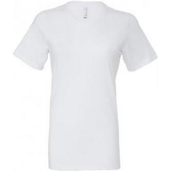 Kleidung Damen T-Shirts Bella + Canvas BL6400 Weiß