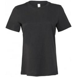 Kleidung Damen T-Shirts Bella + Canvas BL6400 Dunkelgrau