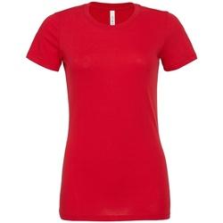 Kleidung Damen T-Shirts Bella + Canvas BL6400 Rot