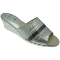 Schuhe Damen Pantoffel Milly MILLY1706arg grigio