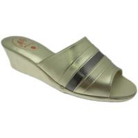 Schuhe Damen Pantoffel Milly MILLY1706pla grigio