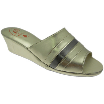 Schuhe Damen Pantoffel Florance MILLY1706pla grigio