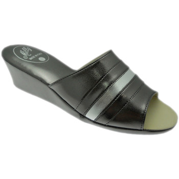 Schuhe Damen Pantoffel Florance MILLY1706pio grigio