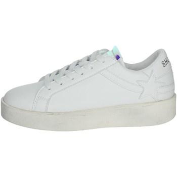 Schuhe Damen Sneaker Low Shop Art SA0300 Weiss