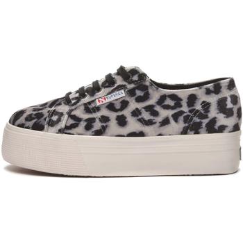 Schuhe Damen Sneaker Low Superga - 2790 nero/bco leopard S00GZJ0 2790 A0L NERO