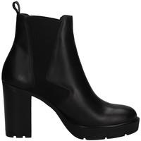 Schuhe Damen Ankle Boots Janet Sport 46857 SCHWARZ