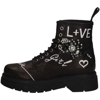 Schuhe Damen Ankle Boots Gio + G2135A SCHWARZ