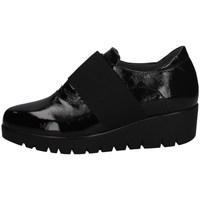 Schuhe Damen Slipper Florance C14504-4 SCHWARZ