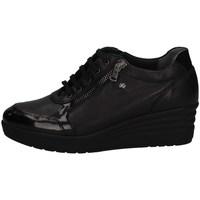 Schuhe Damen Sneaker Low Florance C14374-1 SCHWARZ